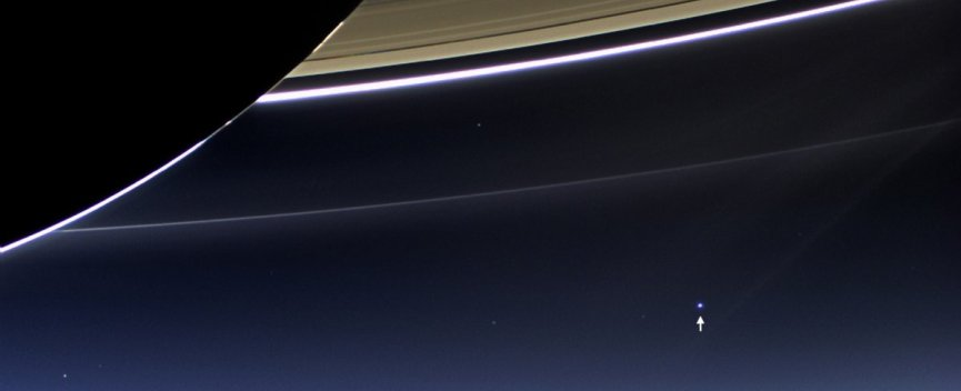 NASA Cassini spacecraft photo of the Earth 898 million miles away from Saturn.jpg